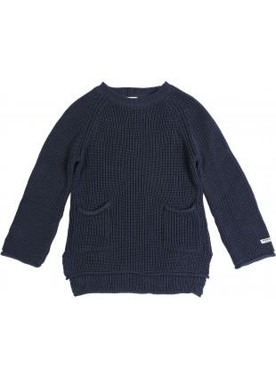 Donsje Baby-Pullover Stella Dark Petrol kaufen - Kleine Fabriek