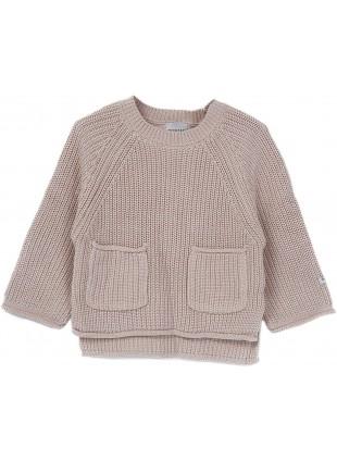 Donsje Baby-Pullover Stella Soft Sand kaufen - Kleine Fabriek