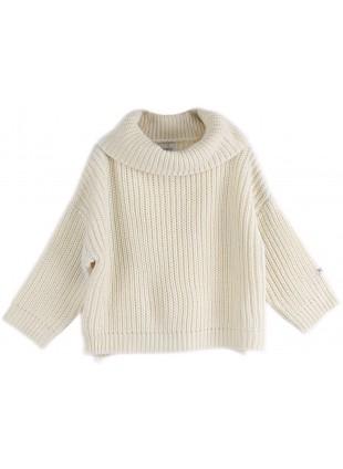 Donsje Kinder-Pullover Yiri Ivory kaufen - Kleine Fabriek