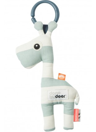 Done by Deer To Go Friend Baby-Rassel Raffi Blau - Kleine Fabriek