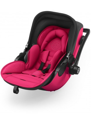 Kiddy Evoluna i-Size 2 Babyschale inkl. Isofix Base 2 Berry Pink 2018 - Kleine Fabriek