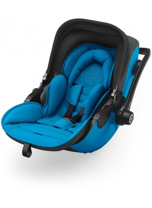 Kiddy Evoluna i-Size 2 Babyschale inkl. Isofix Base 2 Summer Blue 2018 - Kleine Fabriek