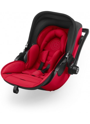 Kiddy Evoluna i-Size 2 Babyschale inkl. Isofix Base 2 Chili Red 2018 - Kleine Fabriek