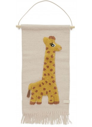 Giraffe Wand-Teppich von OYOY kaufen - Kleine Fabriek