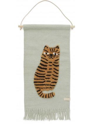 OYOY Wand-Teppich Tiger