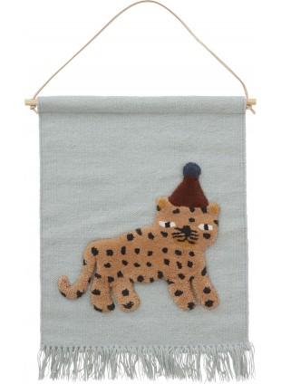 OYOY Wand-Teppich Leopard