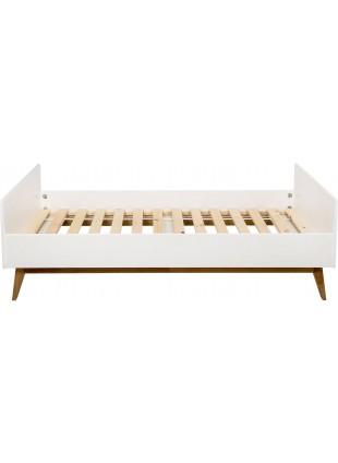 Quax Jugendbett Einzelbett Trendy 90x200 cm Weiß