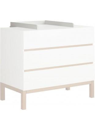 Quax Wickelaufsatz Indigo Weiß kaufen - Kleine Fabriek
