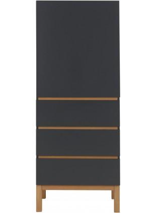 Quax Kleiderschrank 1-türig Indigo Moonshadow