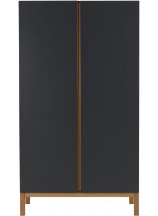 Quax Kleiderschrank 2-türig Indigo Moonshadow