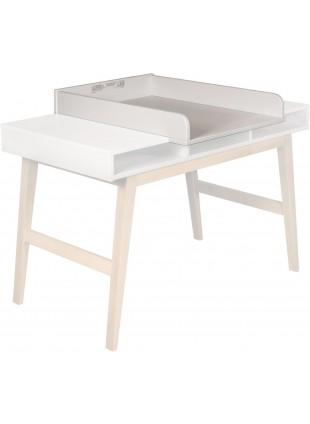 Quax Schreibtisch-Wickelaufsatz Trendy Weiß kaufen - Kleine Fabriek