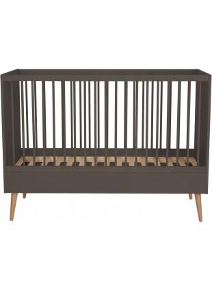 Quax Babybett - Umbaubett Cocoon 70x140 cm Moss
