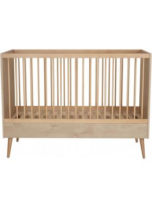 Quax Babybett - Umbaubett Cocoon 70x140 cm Natural Oak