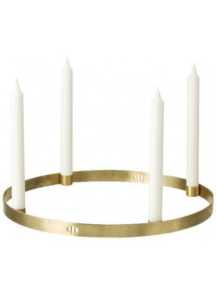 Ferm Living Kerzenhalter Adventskranz Circle Large