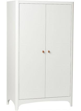 Leander Classic Kleiderschrank Weiß