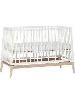 Leander Luna Babybett 60x120 cm Weiß - Eiche