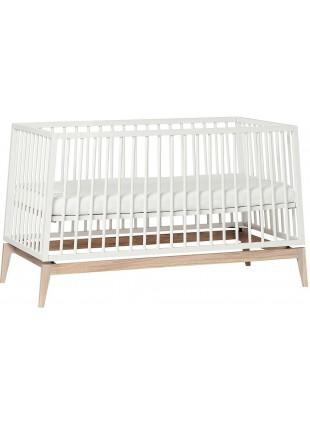 Luna Babybett 70x140 cm Weiß - Eiche von Leander kaufen - Kleine Fabriek