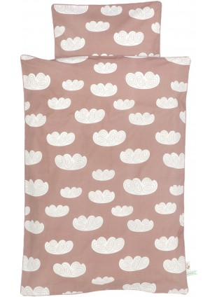 Ferm Living Baby-Bettwäsche 70x100 cm Cloud Rose