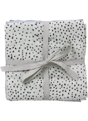 Ferm Living Mullwindel-Set Mint Dot - Kleine Fabriek