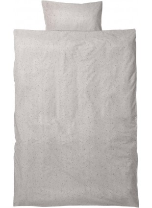 Ferm Living Kinder-Bettwäsche Set Hush 100x140 cm Milkyway Cream - Kleine Fabriek
