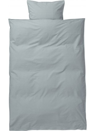 Ferm Living Kinder-Bettwäsche Set Hush 100x140 cm Dusty Blue - Kleine Fabriek