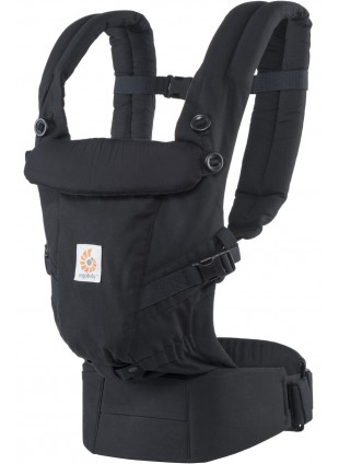 Features Ergobaby Babytrage Adapt 3 Positionen Schwarz - Kleine Fabriek