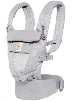 Ergobaby Babytrage Adapt Cool Air Mesh Pearl Grey - Kleine Fabriek