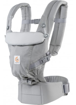 Features Ergobaby Babytrage Adapt 3 Positionen Grau - Kleine Fabriek