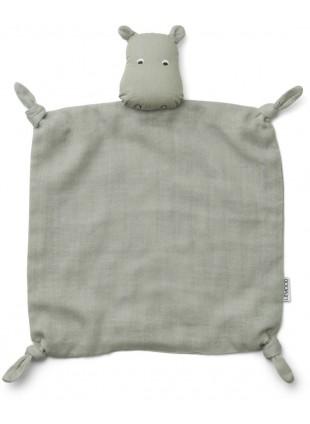 Liewood Baby-Schmusetuch Hippo Dove Blue kaufen - Kleine Fabriek
