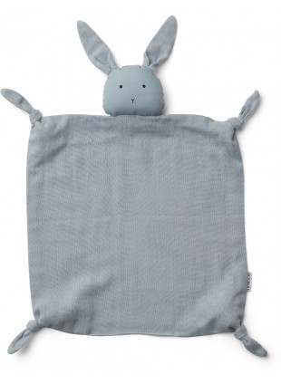 Liewood Baby-Schmusetuch Agnete Hase Sea Blue