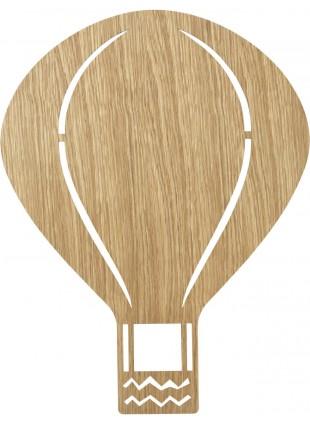 Ferm Living Wandlampe Balloon Eiche geölt