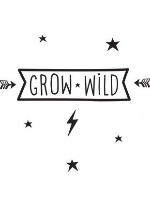 Wall Sticker Wand-Aufkleber Grow Wild