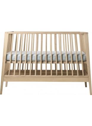 Leander Linea Babybett 60x120 cm Eiche