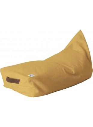 Nobodinoz Pure Line Sitzsack Pouf Oasis Farniente Gelb