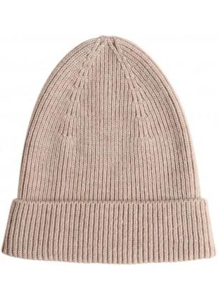 hvid Merino-Mütze Beanie Fonzie Sand kaufen - Kleine Fabriek