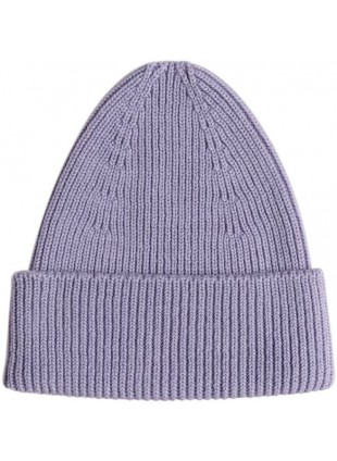 hvid Merino-Mütze Beanie Fonzie Lilac kaufen - Kleine Fabriek