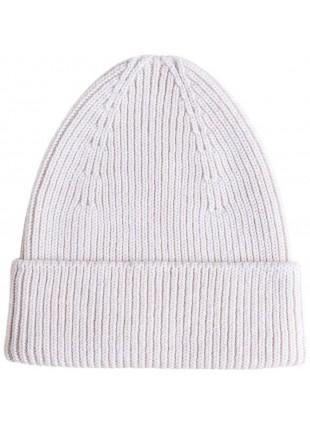 hvid Merino-Mütze Beanie Fonzie Off-White kaufen - Kleine Fabriek