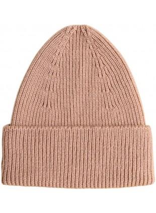 hvid Merino-Mütze Beanie Fonzie Rose kaufen - Kleine Fabriek