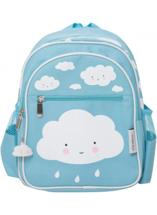 A Little Lovely Company Kinder-Rucksack Wolke Blau - Kleine Fabriek
