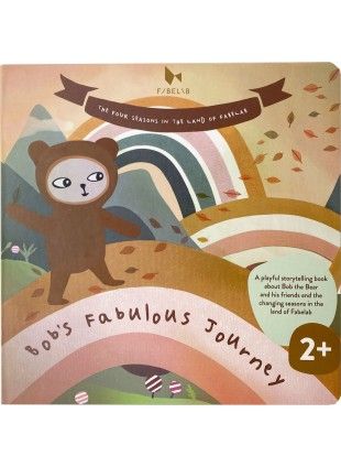 Fabelab Bilderbuch Bob's Fabulous Journey (Englisch)