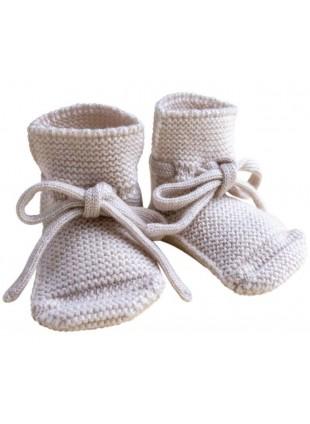 hvid Strick-Babyschuhe Off-White kaufen - Kleine Fabriek