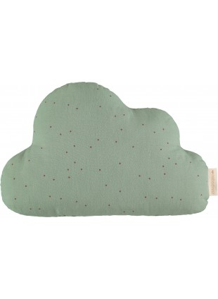 Nobodinoz Kissen Wolke Toffee Sweet Dots - Eden Green