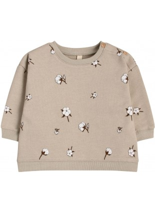 Organic Zoo Baby-Sweatshirt Cotton Field