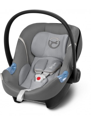 Cybex Aton M Babyschale Manhattan Grey - Kleine Fabriek