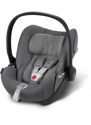 Cybex Cloud Q Plus Babyschale Manhattan Grey - Kleine Fabriek
