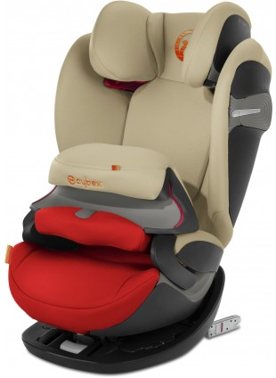 Cybex Pallas S-Fix Autositz Gruppe 1/2/3 Autumn Gold - Kleine Fabriek