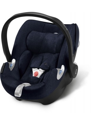 Cybex Aton Q i-Size Plus Midnight Blue - Kleine Fabriek