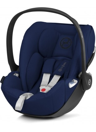 Cybex Cloud Z i-Size Babyschale Midnight Blue - Kleine Fabriek