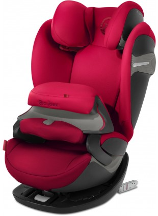 Cybex Pallas S-Fix Autositz Gruppe 1/2/3 Rebel Red - Kleine Fabriek