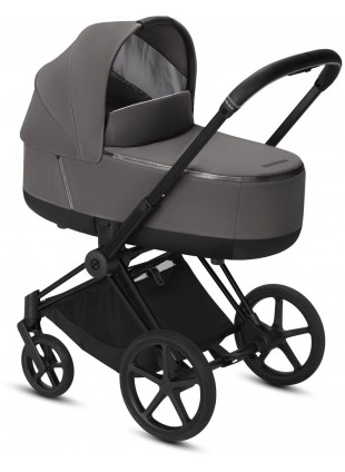 Cybex Priam Kinderwagen Set Matt Schwarz/Manhattan Grey